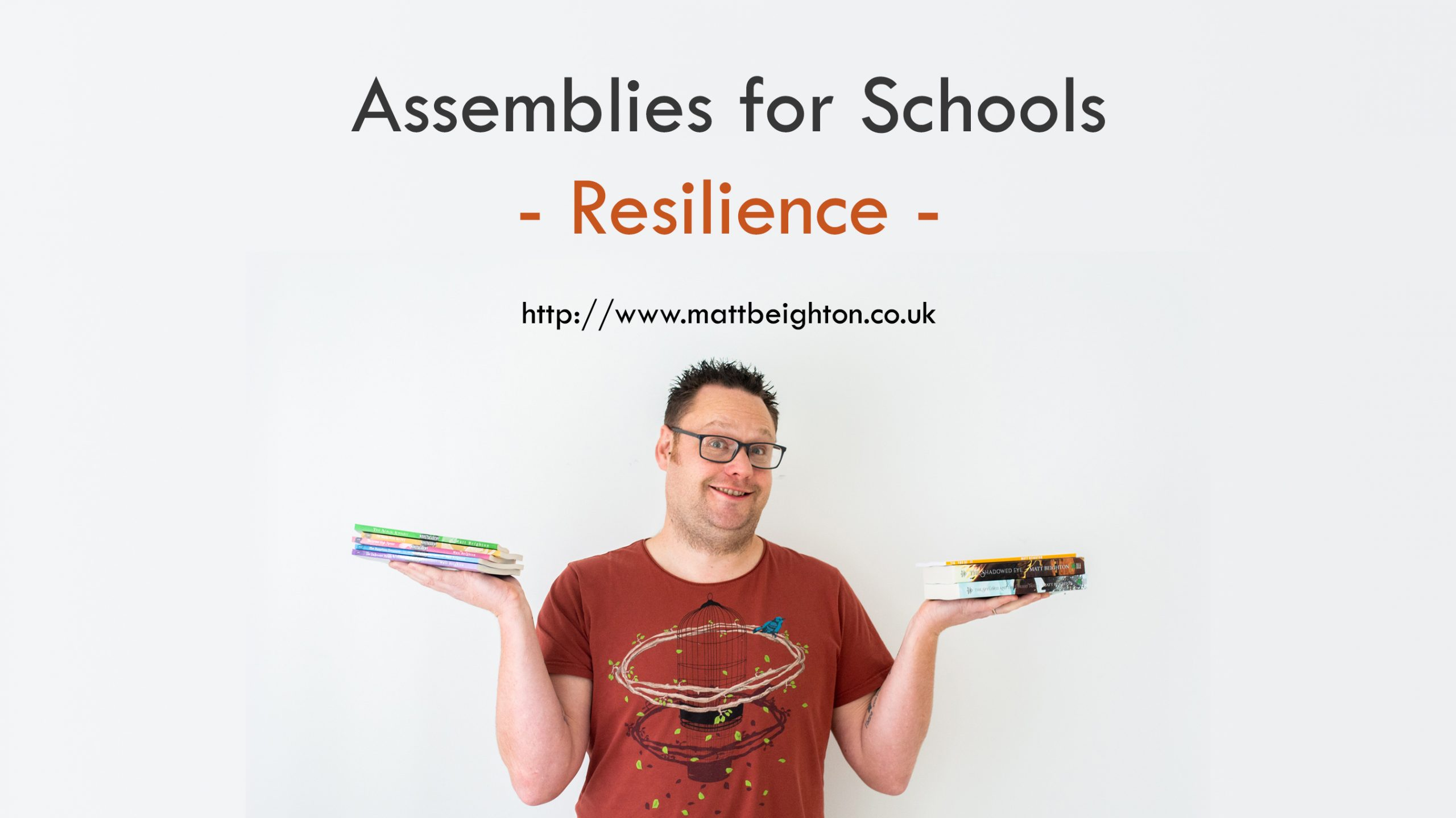 Assemblies for Schools - Resilience