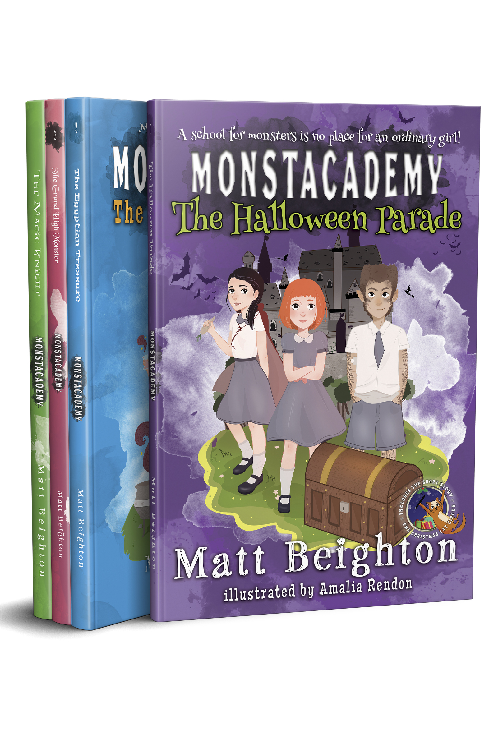 Monstacademy series covers
